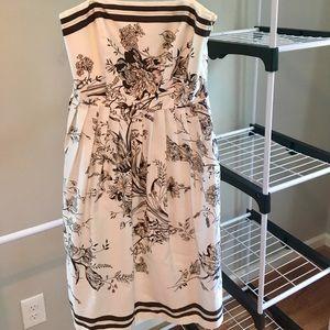 Toile pattern dress